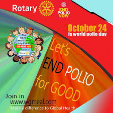 24th October is World Polio Day
