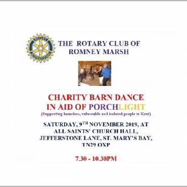 Barn Dance Saturday 9th November